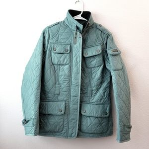 BARBOUR QUILTED JACKET US 6